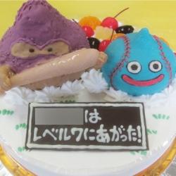 ドラクエスライムとおおきづちケーキ
