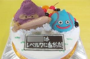 ドラクエ野球バージョンケーキ