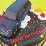 ミニクーパークラブマン車ケーキ