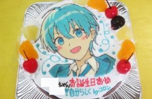 ストプリころん君のイラストケーキ