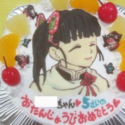 鬼滅の刃、栗花落カナヲちゃんケーキ