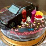 ホンダインスパイア車立体ケーキ